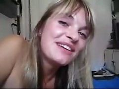 Homemade Video Hot Blonde