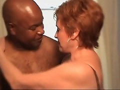 Hot Redhead Mature Takes BBC