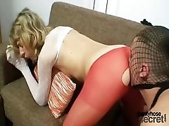 Vanesa and her boyfriend they both love nylons and pantyhose. The often fuck right through pantyhose, he actually penetrate her right thorough his and