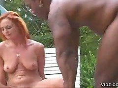Wild Donna Marie gets slit and butt hammered