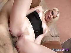 Sexy Jenny Loves Cock Inside Her Anus