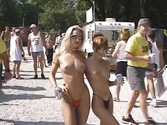 Fun at a Nudist rally 19