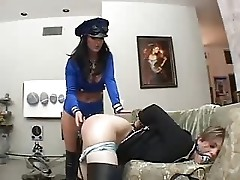 Sophie Spanks Her Female Slave
