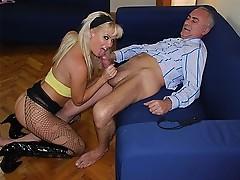 Hot blonde hooker