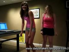 Hot White Teens Shaking Booties For You!!