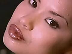 Francine Dee hot asian strip