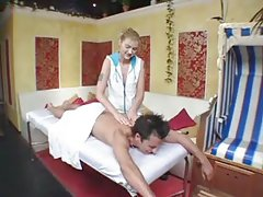 Hard sex after good massage