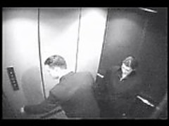 Elevator Blowjob