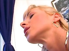Squirting blon lesbians cannot stop dirty games