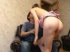 Masha fucked on sofa