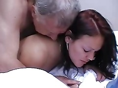 Grandpa love granddaughter