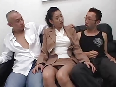 Japanese Threesome MMF - Uncensored