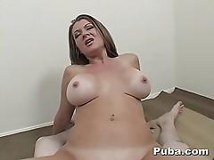 MILF Raquel Devine Swallows All The Cum in POV