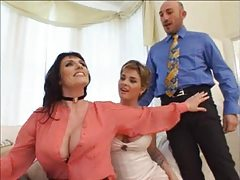 Isabel Ice and  busting cougar Josephine James-trasgu