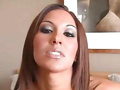 Beautiful Adrianna Deville POV Blowjob DTD