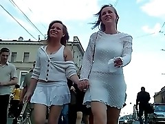 Upskirt girls with nice asses