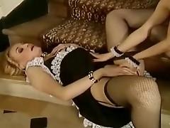 Naughty Maid Fisting