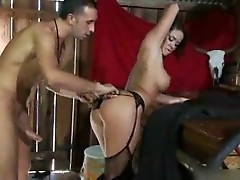 Savannah Stern treats a cowboy with pussy juice
