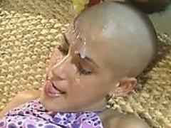 Baldhead anal teen Replaylova