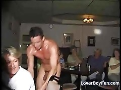 Old Cougars Groping The Stripper