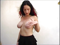 big tits poses
