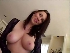 Black fellow drills sexy white milf's wanting cunt