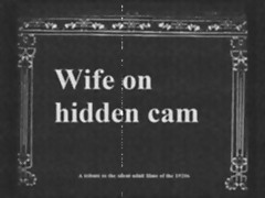 Tribute to vintage 1920s porn