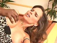 European milf dreams about anal with black cocks