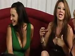 American Milf 2 Lesbian Orgy- Lisa Ann, Julia Ann, Raquel De