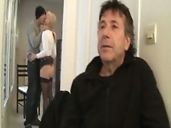 Fabienne mature anal fucked in stockings