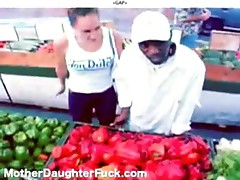 Threesome Interracial Mother Daughter