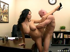 Brazzers Mommy Got Boobs Ava Addams in Interview with my Asshole