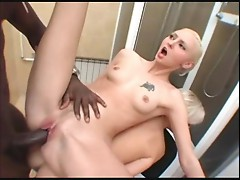 maya and snow fucking a cock