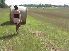 Redhead Belle Amish Walk