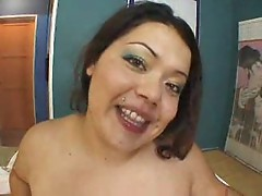 Hot bbw Vanessa gets fucked hardly by a thick dick