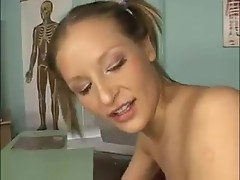 Blonde, amateur bitch loves the hard ass-fucking