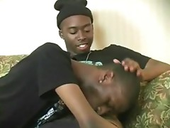 Black amateur gay guys doing thug blowjob together