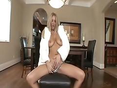 Sexy blonde Jordan Kingsley enjoys the sex till the last drop