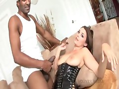 Charlie James swallows huge black shlong