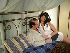 Big Tits anal with Padre