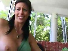 sexy milf shows off a perfect body
