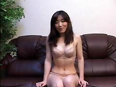Asian Girl With Big Boobs Sucks Cook