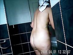 Sarahd in my bathroom