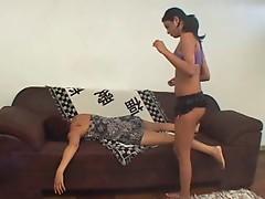 Unconscious Lesbian Abuse Pt. 1 - Relentless Boner