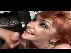 Chubby Redhead Granny Fucked