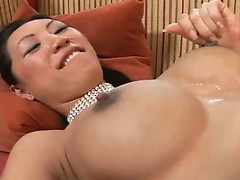 Asian cutie gets sluted