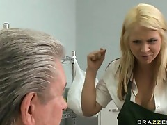 Brazzers Baby Got Boobs Sarah Vandella in Only one way to save the store
