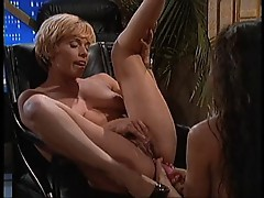 Leslie Glass And Morgan Fairlane Lesbian Scene