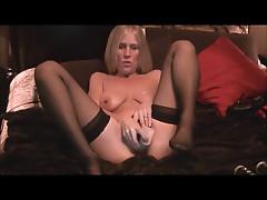 Hot Blond MILF ON cam