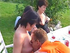 German mature women orgy